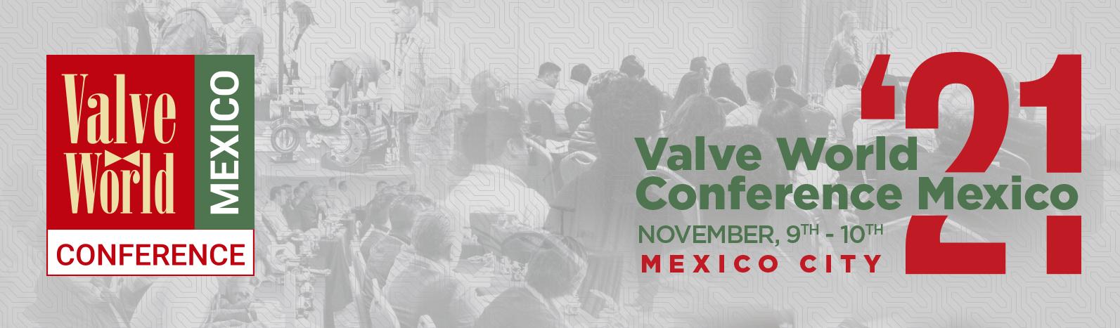 Valve World Conference Mexico 2021